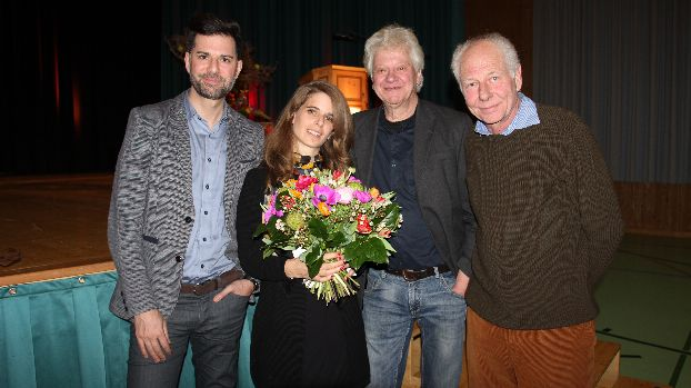 Rico Valär, Jessica Zuan, Bruno Ritter und David Wille (von links)